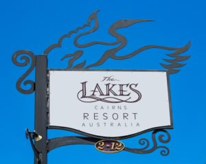 Lakes Sign